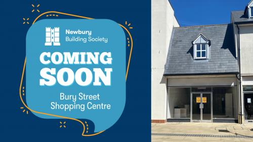 Newbury Building Society is coming to Bury Street
