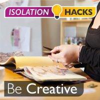 Be Creative: Too many photos lying around?